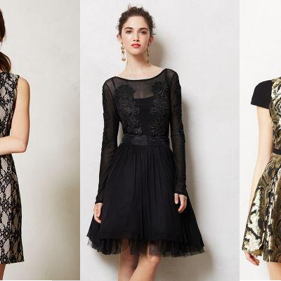 Anthropologie's Perfect Holiday Party Dresses
