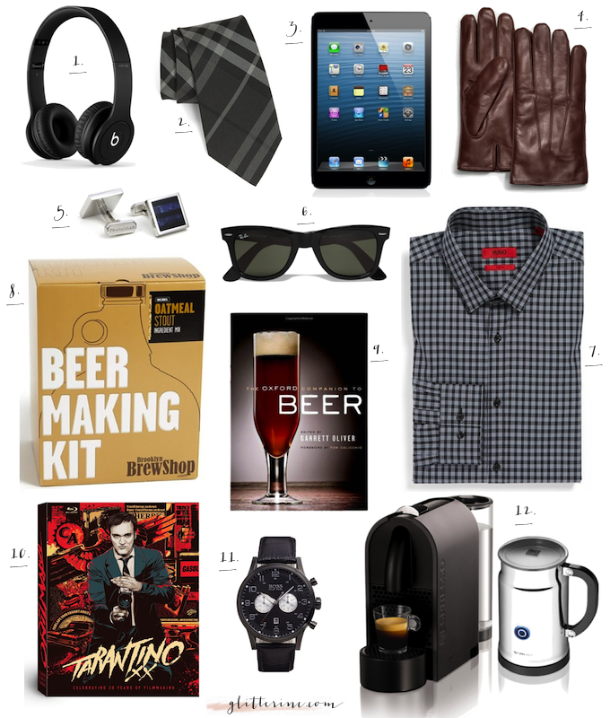 gift guide gifts holidays men man for him husband boyfriend _ glitterinc.com