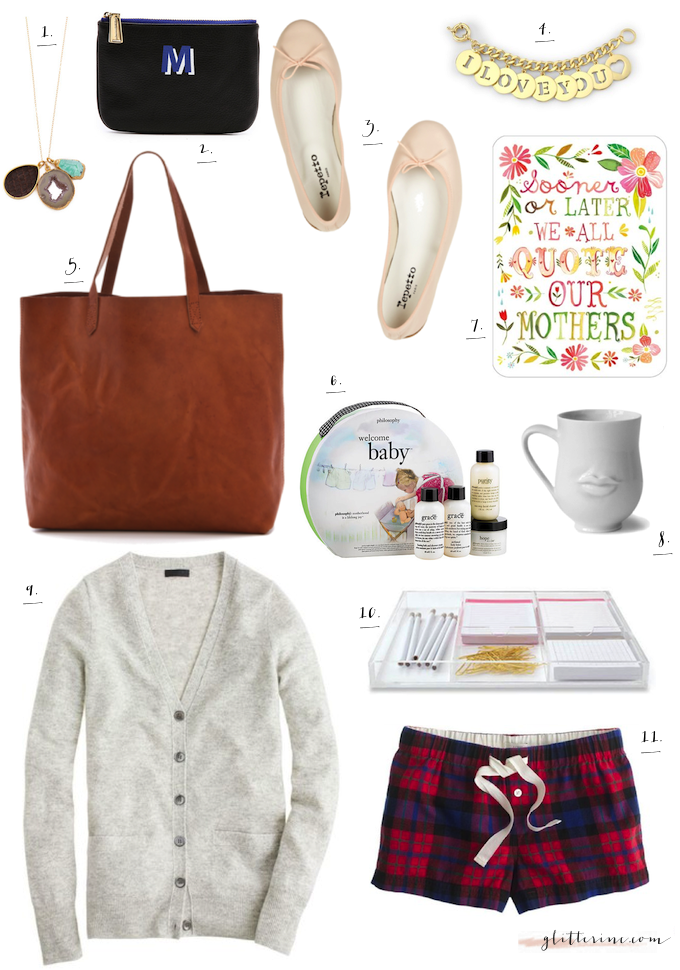 gift guide holiday for mom mother her gifts _ glitterinc.com