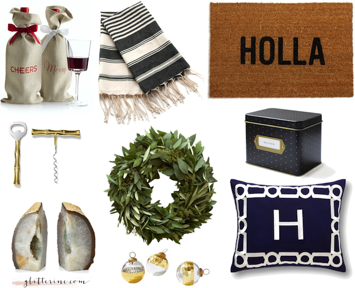goliday gift guide gifts host hostess hosts dinner party _ glitterinc.com