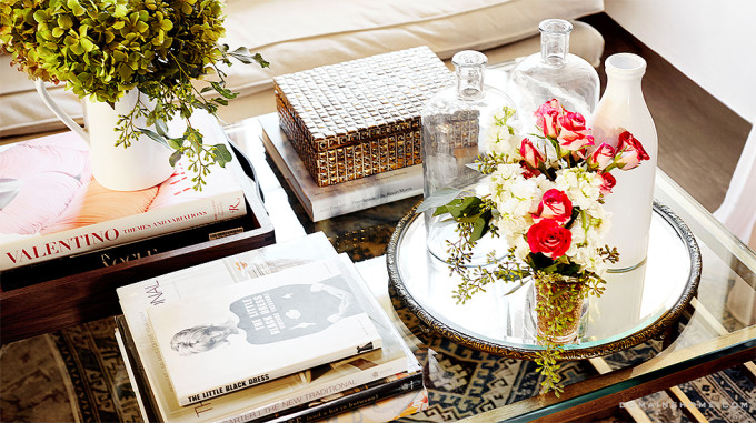 office table styling lauren conrad
