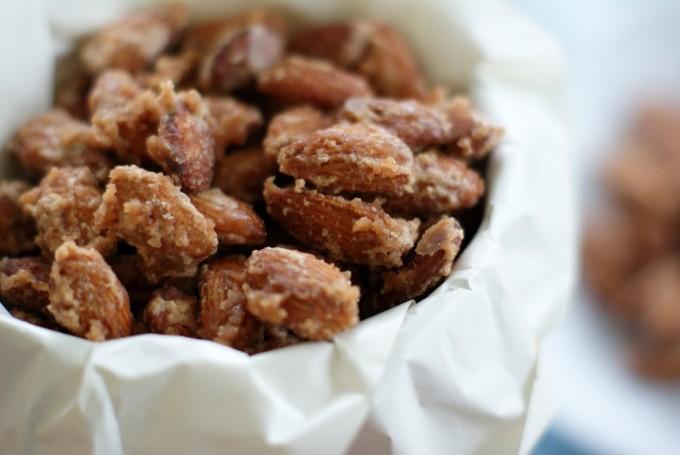 vanilla cinnamon candied almonds nuts