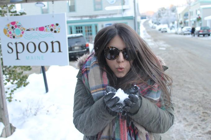 Maine snow lexi plaid zara asos Winter Vacation 2013