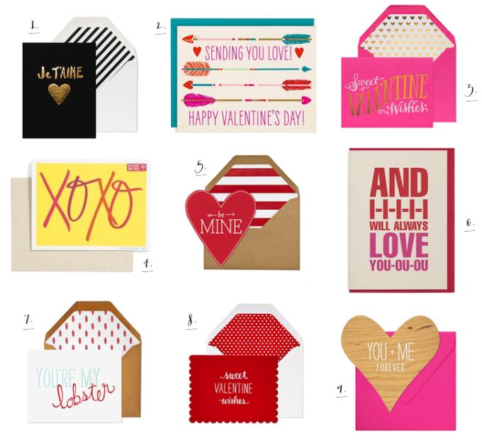 Valentine's Day Snail Mail Cards Paper _ glitterinc.com