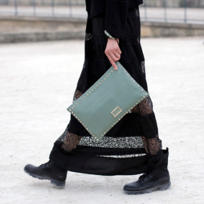 Feminine Dresses & Chunky Boots