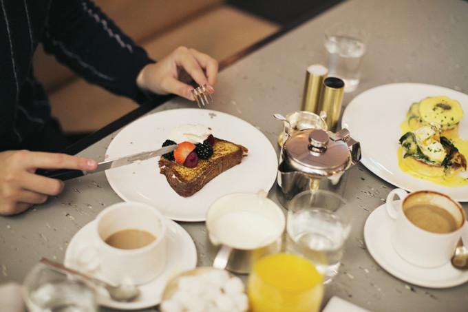 breakfast london french toast eggs