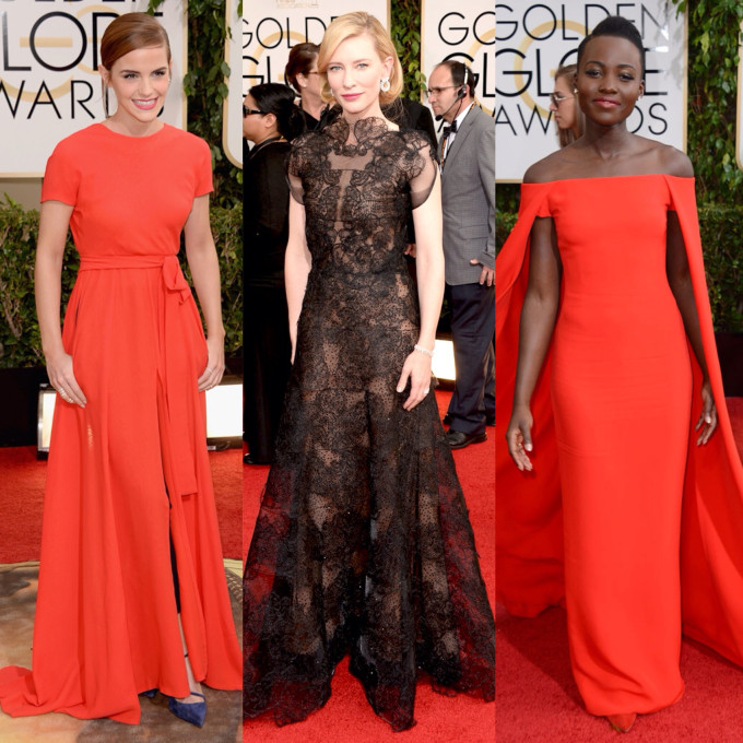 golden globes best dressed runners up