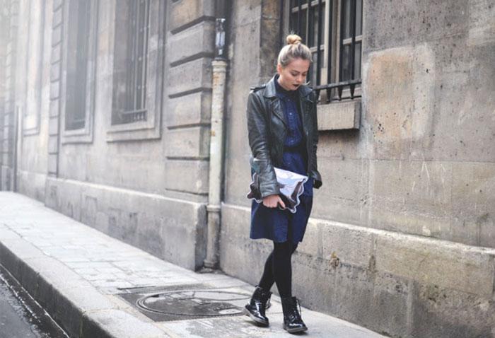 Feminine Dresses Amp Chunky Boots Glitter Inc