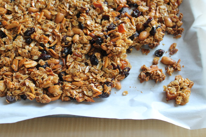 perfect clumpy granola dried fruit nuts tray clumps 2_ glitterinc.com
