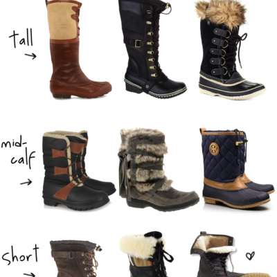 Fashion 101: Cold-Weather Boots (2014)