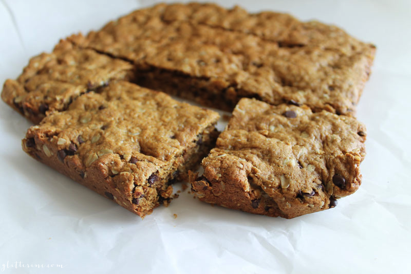 Chocolate Peanut Butter Oatmeal Protein Cookies