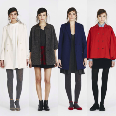 Joie's Fall 2014 Parisian Girl Cool Collection