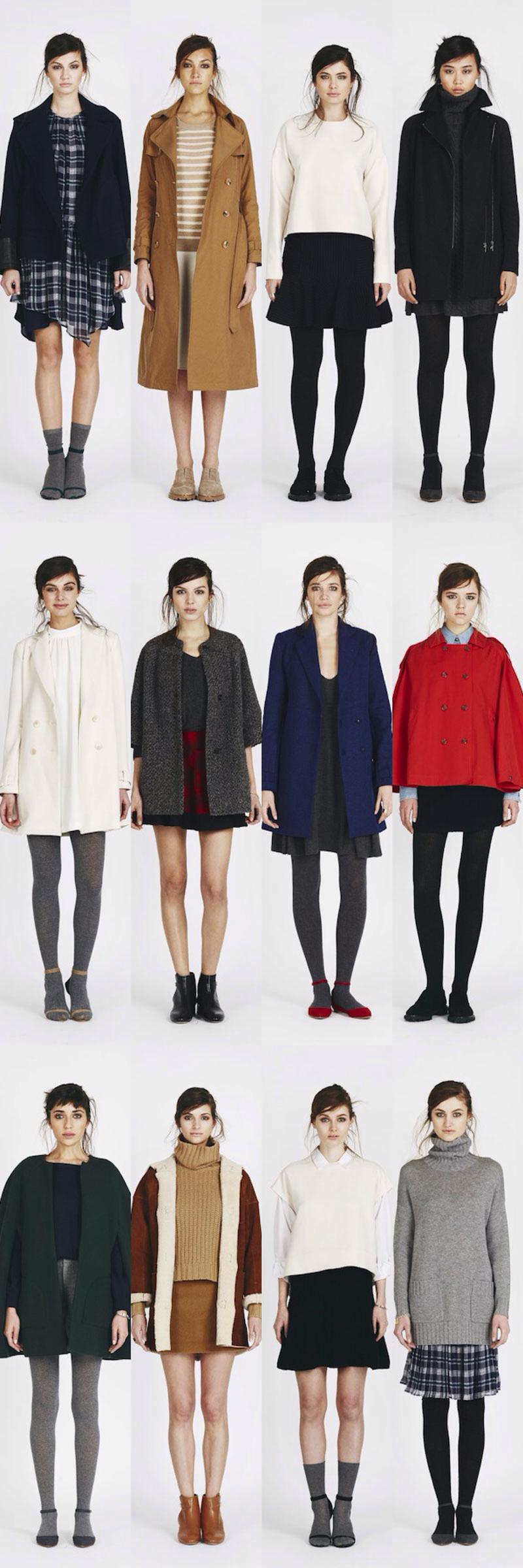 Joie Fall 2014 Paris France Fashion Lookbook _ glitterinc.com