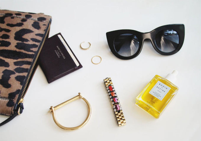 Miansai-Screw-Cuff-Bracelet-+-Jerome-Dreyfudd-Leopard-Clutch-+-Rodin-via-Andy-Heart