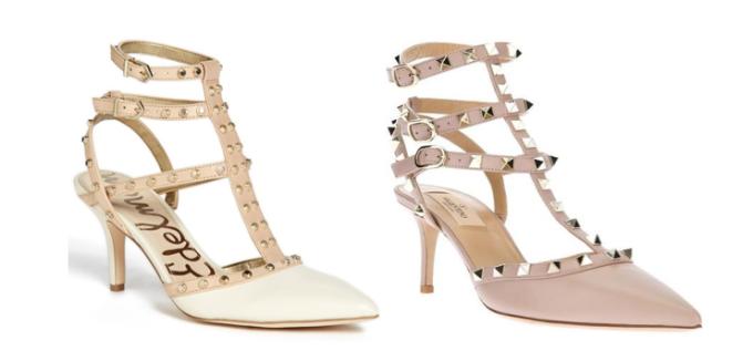 Valentino Rockstud Studded Heels Look-a-lik Copycat Budget