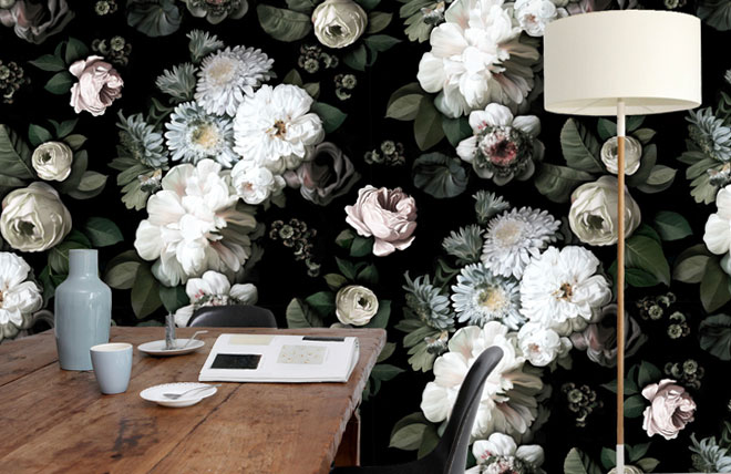 Ellie-Cashman-Designs-dark-floral-wallpaper