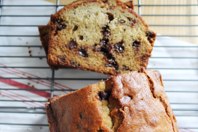 Homemade Milk Chocolate Chip Banana Bread Recipe 4 - glitterinc.com