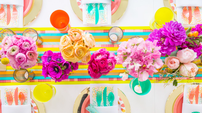Oh Joy for Target tablescape Spring
