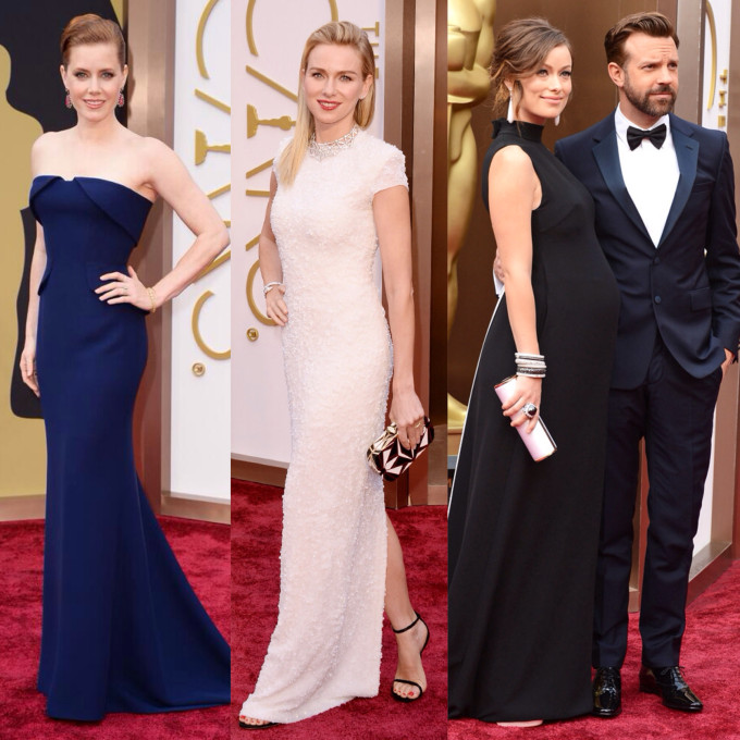 Oscars Academy Awards 2014 Red Carpet Best Dressed - Runners Up