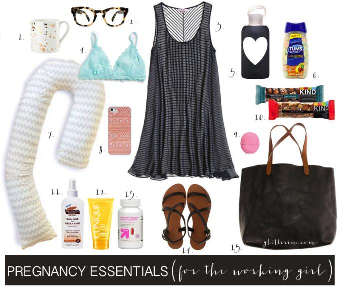 Pregnancy Essentials for the Working Girl New Mom - glitterinc.com