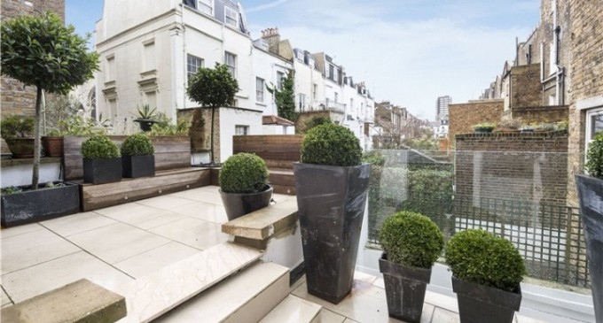 Vintage Modern Home in London Notting Hill - garden rooftop terrace