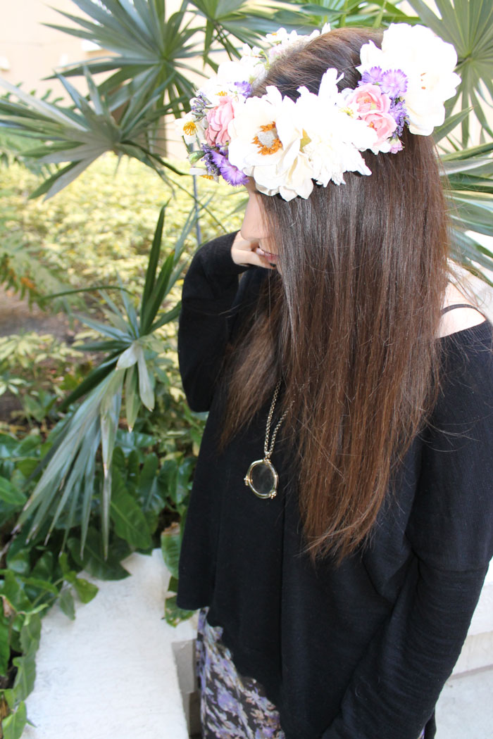 it's-a-girl-floral-crown-baby-announcement---free-people-floral-maxi---glitterinc.com