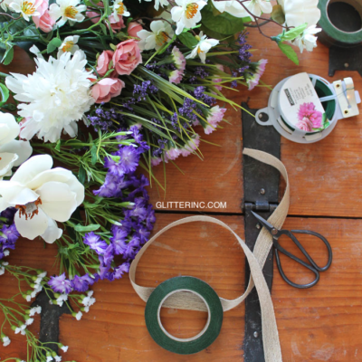 DIY Lush Flower Crown
