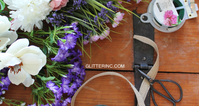 Floral-Flower-Crown-DIY---Supplies---glitterinc.com