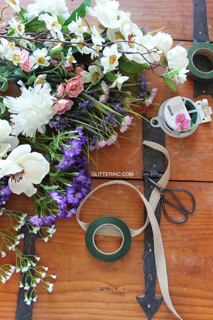 Floral-Flower-Crown-DIY---Supplies---glitterinc.com