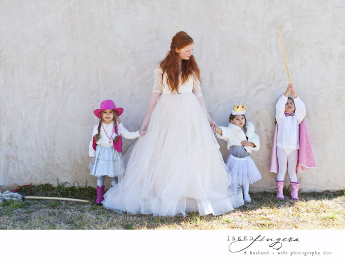 Queen of Hearts Styled Tea Party Photo Shoot - bride - tulle dress