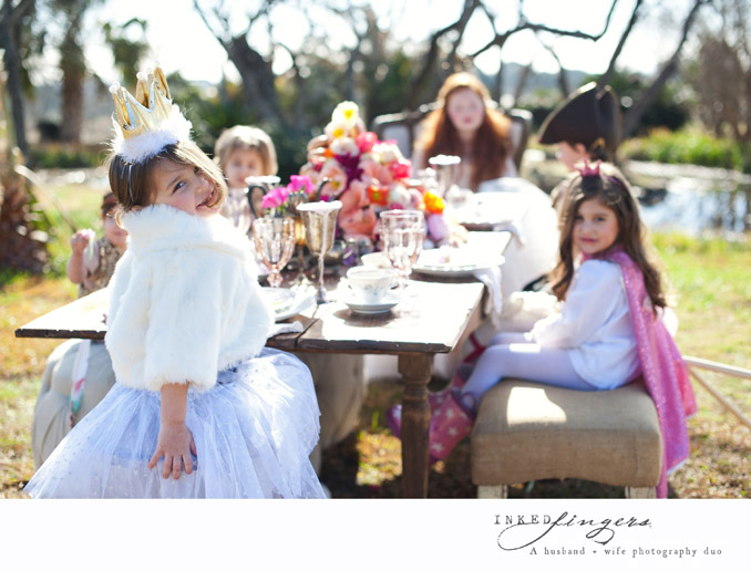 Queen of Hearts Styled Tea Party Photo Shoot - kids 3