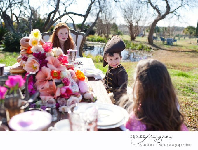 Queen of Hearts Styled Tea Party Photo Shoot - kids