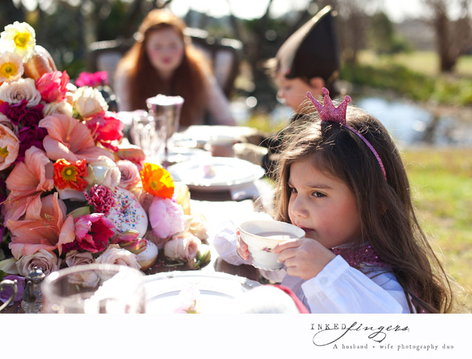 Queen of Hearts Styled Tea Party Photo Shoot - princess