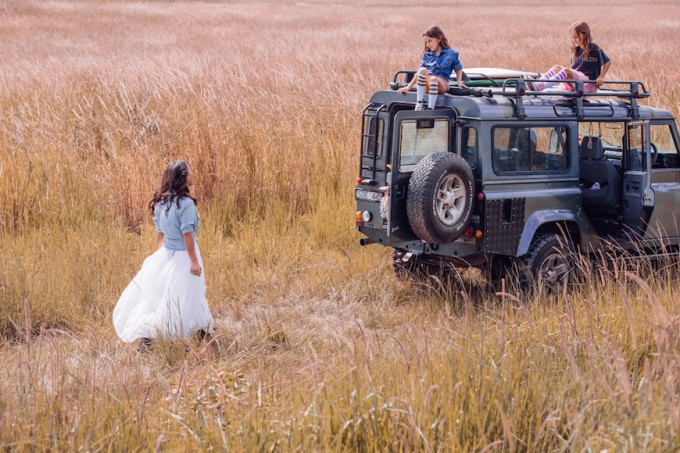 Steele Family tulle travel gypsy safari