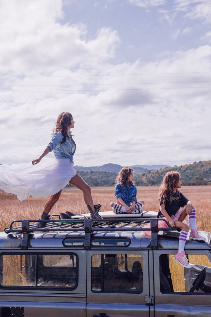 Steele Family tulle travel gypsy safari girls
