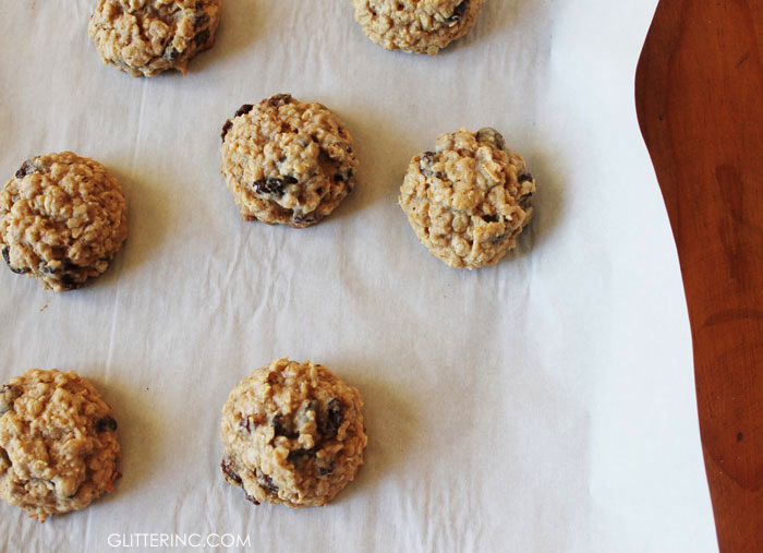 Thick, Chewy Oatmeal Raisin Cookies Recipe — Dishmaps