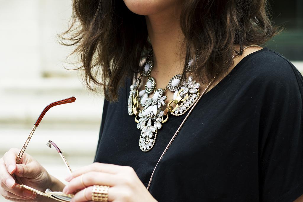 layered statement necklaces bib necklace