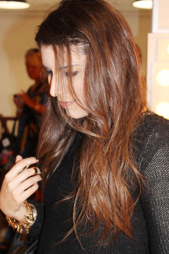 lexi blogger waves how to tutorial birchbox new york fashion week salon grafix - glitterinc.com