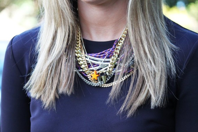 stacked statement necklace layers dylanlex DIY