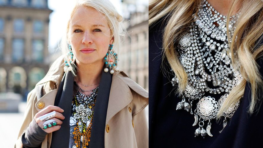 statement necklaces layered - dylan lex - jewelry
