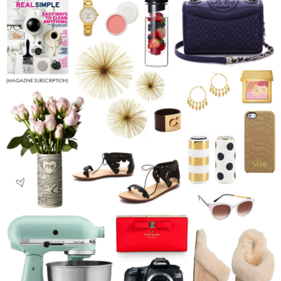 The Ultimate Gift Guide for Mom + A Giveaway