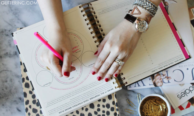 Kenneth-Cole-Watch-+-bracelets-+-magazines-+-planner---glitterinc.com