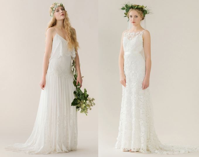 Rue de Seine 2014 'Young Love' Collection Wedding Dress - lace - flowers - bohemian - glitterinc.com