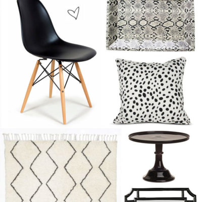 Black + White Home Design Accents