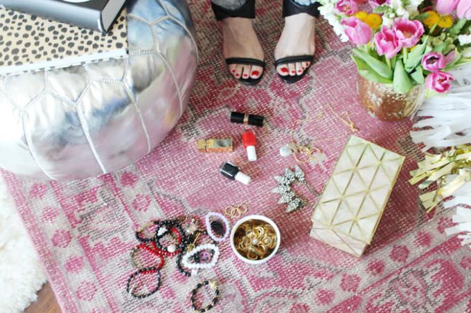 lulu georgia behind the rug pari moroccan silver pouf iro sandals - glitterinc.com