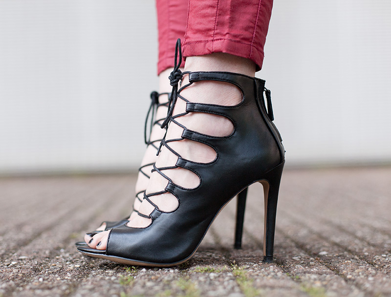 Zara Lace Up Heels