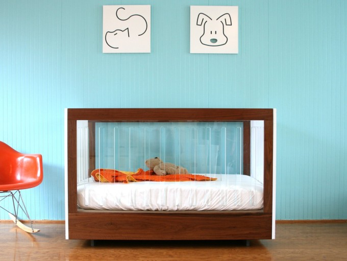 Spot on Square Roh 2 Piece Crib Set via AllModern