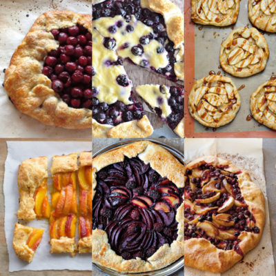 12 Summer Fruit Galette Recipes {Slideshow}