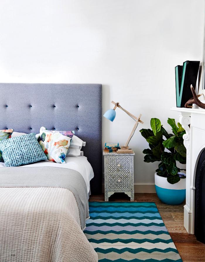 interiors - bedroom - bohemian - lucy fenton - adore magazine
