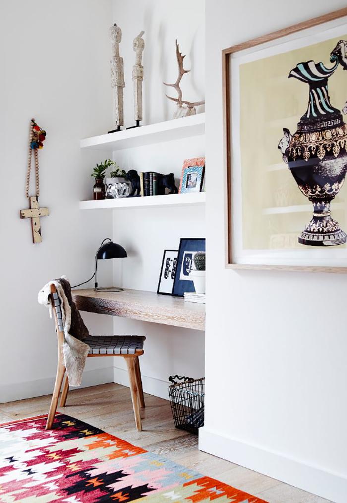interiors - desk - lucy fenton - adore magazine
